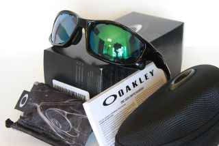 NEW Oakley Split Jacket Sunglasses Polished Black/Jade Iridium Vtd