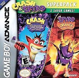 Crash Superpack Nintendo Game Boy Advance, 2005