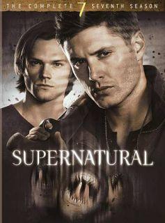 Supernatural The Complete Seventh Season (DVD, 2012, 6 Disc Set)