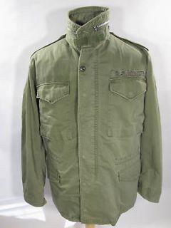 vintage PRE VIETNAM ERA M 65 FIELD Jacket military ARMY CONMAR zipper