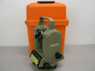 wild heerbrugg t2000 leica theomat theodolite surveyor time left $