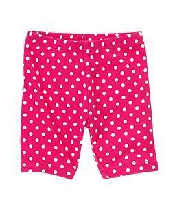 Gymboree Ice Cream Sweetie Pink Polka Dot Bike Shorts   6   NWT
