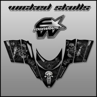 POLARIS DRAGON,SHIFT,RMK,I.Q.,SWITCHBACK custom graphics   wicked