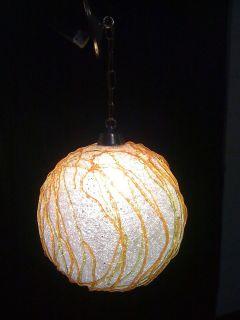 Rut Ro Groovy Go Go Era 1960s Acrylic Latex Spaghetti Light