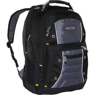 targus drifter ii 17a laptop backpack black grey time left