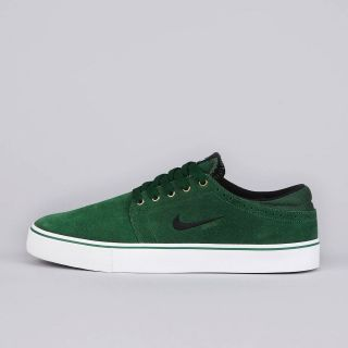 nike sb team edition gorge green black white 487597 301
