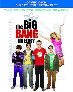 The Big Bang Theory   The Complete Second Season Blu ray Disc, 2012, 6