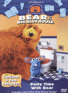 Bear in the Big Blue House   Potty Time With Bear DVD DVD, 2004