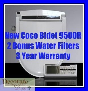 coco bidet elongated 9500r electronic toilet seat remote control jet