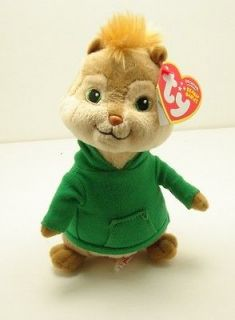 Theodore from Alvin and The Chipmunks Squeakuel 8 Ty Beanie Babies