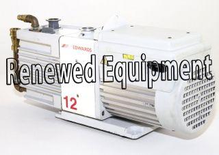 edwards rotary vane vacuum pump rv12  1078