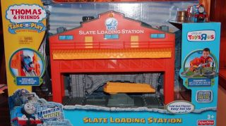 Take n Play Along THOMAS SLATE LOADING STATION blue mountain mystery