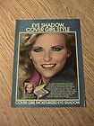 GIRL ADVERTISEMENT CHERYL TIEGS MAKEUP AD LADY SMILE BEAUTIFUL LOOK