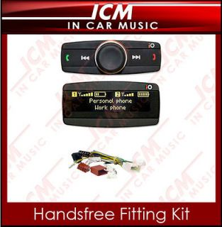 Bluetooth Handsfree Car Kit & iPod iPhone Music Streaming For