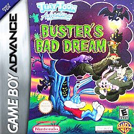 Tiny Toon Adventures Busters Bad Dream Nintendo Game Boy Advance