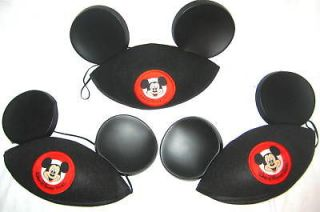 mickey mouse classic black ears hats disney world time