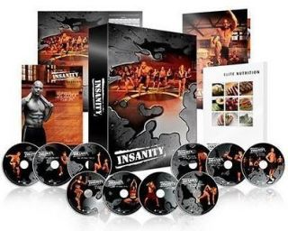 Newly listed SHAUN T 60 DAY INSANITY WORKOUT COMPLETE 13 DVD BOX SET