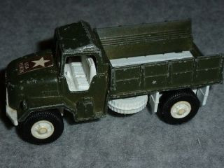 TOY TOOTSIETOY ARMY MILITARY DEUCE AND A HALF TRUCK METAL TOOTSIE TOY
