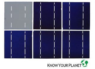 40x A grade polycrystalline 6x6 solar cells for DIY solar panel   140