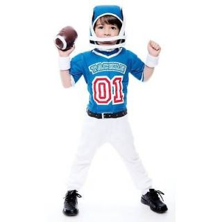 football player muscle toddler boys kids costume 2t one day