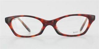 soho 17 cat eye eyeglass frame in tortoise time left
