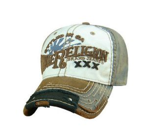 True Religion Classic Sun Rise TR Script Logo Flex fit Cap Hat $85 NWT