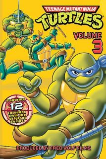 Teenage Mutant Ninja Turtles   Vol. 3 DVD, 2005
