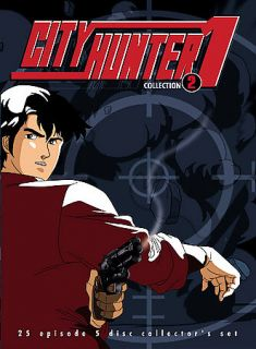 City Hunter TV Season One Collection Two DVD, 2003, 5 Disc Set
