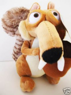 100 % new ice age 3 scrat 20cm plush toy