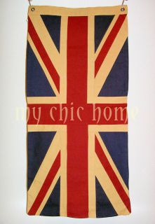 Vintage Patriotic Union Jack Flag   42 x 20 inches   Jubilee