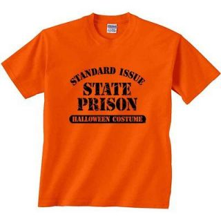 Halloween T Shirt Standard Issue State Prison Halloween Costume Funny