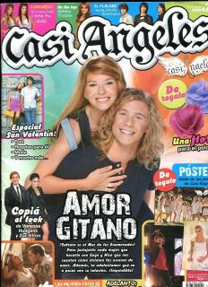 TEEN ANGELS CASI ANGELES magazine Argentina Feb 2009 # 23