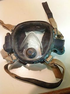 Desco B Lung full face Rebreather two hose Mask VERY RARE