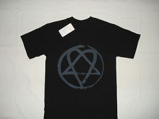 GOTH METAL ROCK BAND H.I.M. NEW T SHIRT LARGE HEARTAGRAM VILLE VALO