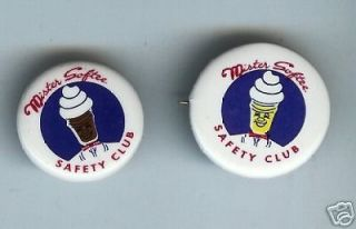 mister softee ad pin ice cream dairy vanilla time