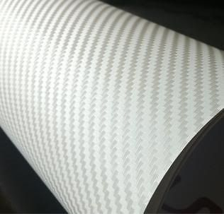 15 FT 3D CARBON FIBER VINYL TEXTURED ROOF HOOD TRUNK WRAP FILM SHEET