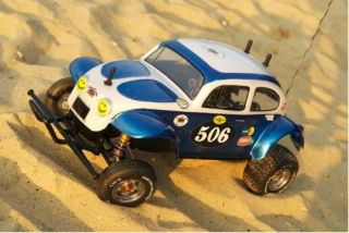 Tamiya Reproduction VW Sand Scorcher Monster Beetle Baja Bug Kamtec
