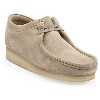 men s clarks wallabee casual shoes sand suede new in box