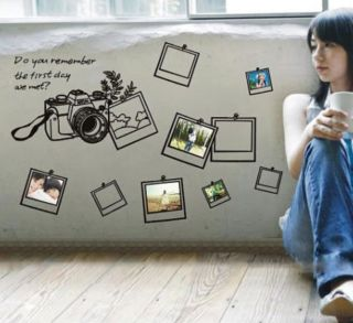 wall decor decal frames in Decals, Stickers & Vinyl Art