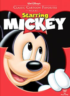Walt Disneys Classic Cartoon Favorites Starring Mickey DVD, 2005