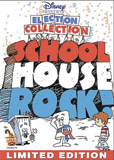Schoolhouse Rock The Election Collection DVD, 2008, Foil O Sleeve