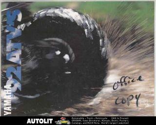 1992 Yamaha Big Bear Banshee Warrior Blaster Breeze YFM350ER YFM80 ATV