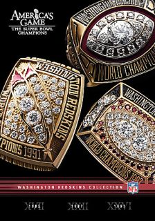 NFL Americas Game Washington Redskins DVD, 2007, 3 Disc Set