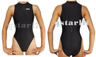 women racing hi neck zip up hydrasuit water polo 36