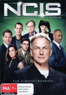 NCIS   COMPLETE SEASON SERIES 1 2 3 4 5 6 7 & 8 **BRAND NEW DVD BOXSET
