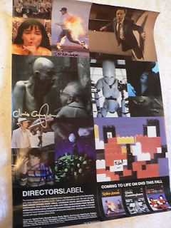 Newly listed Dave Grohl Foo Fighters Directors label signed x 4 poster