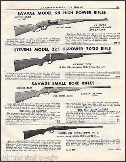 1948 savage model 99 325 hi power 23 d 219
