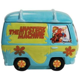 Scooby Doo, Mystery Machine Van Animation Art Ceramic Cookie Jar, 2012