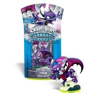 Skylanders 4 Figures Cynder Whirlwind Double Trouble Drill Sergeant
