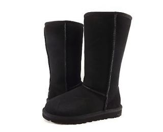 Childrens Shoes   UGG AUSTRALIA   KIDS CLASSIC TALL BOOTS BLACK *NEW*